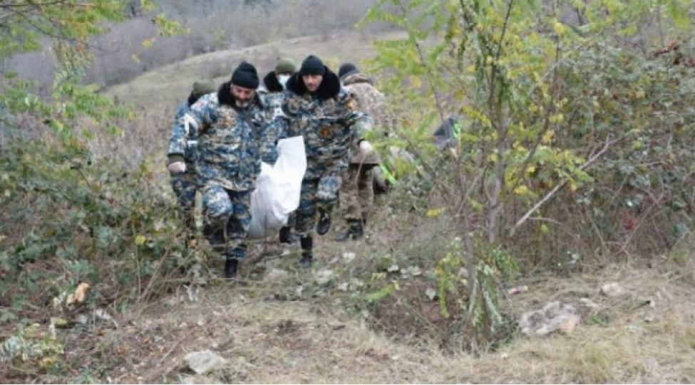 Qarabağ ərazisində 29 erməni cəsədi aşkarlanıb